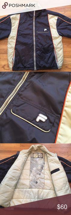 Vintage Mens Fila Heavy Ski Jacket - Circa 90's Vintage Mens Fila Heavy Ski Jacket - Circa 90's - Large - Hardly Worn.  Dope throwback from the 90's.  In near perfect condition.  Zero wear and tear Fila Jackets & Coats Ski & Snowboard
