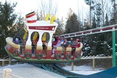 Christmastime at Santa's Village, Jefferson NH