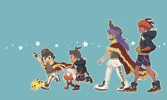 """ゴマシヲ on Twitter: """"「サトシとゴウはダンデとキバナの小さい頃を見ているみたい」っていう呟きを見かけてなにそれ素敵…と思わず並べてしまった☺️… """" Pokemon Guzma, Pokemon Memes, Pokemon Fan Art, Pikachu, Pokemon Champions, Doraemon Wallpapers, Cute Pokemon Wallpaper, Pokemon Pictures, Anime"""