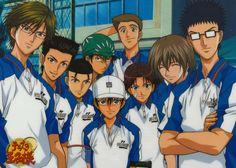 Eiji Kikumaru, Shuichiro Oishi, Kaoru Kaidoh, Kunimitsu Tezuka, Ryoma Echizen, Shusuke Fuji, Takashi Kawamura, Takeshi Momoshiro, Sadaharu Inu