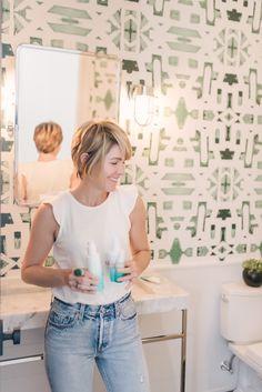 Beauty and the Lindsay Cowles Bathroom | Seersucker & Saddles