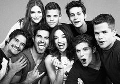 Lydia, Stiles, the Carver twins, Scott, Dereck, Allison, Lahey