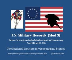 Module 3 includes Revolutionary War research Alabama Tennessee, Michigan Ohio, Cemetery Records, Branch Of Service, Military Records, Archive Library, Online Publications, Colonial America, National Archives
