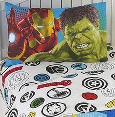 Amazon.com - Marvel Comics The Avengers 3 Piece Twin Sheet Set -