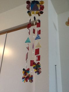 Fused glass chime