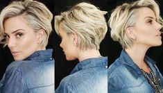 2018 The Latest Longer Pixie Hairstyles Shorthaircut - Hair Beauty - DIY & Crafts Long Pixie Hairstyles, Cute Short Haircuts, Pretty Hairstyles, Short Blonde Haircuts, Medium Hair Styles, Curly Hair Styles, Short Hair Cuts For Women, Great Hair, Hair Today
