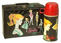 Barbie lunch box! Had one  of these at some point in grade school