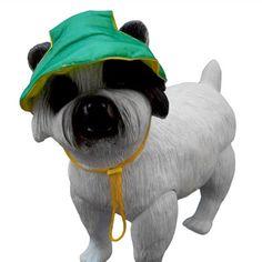 Boné para Cachorro Verde e Amarelo Bloomer - MeuAmigoPet.com.br #petshop #cachorro #cão #meuamigopet