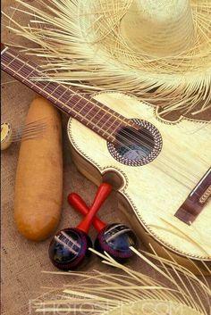El guiro, las maracas, la paba y el cuatro!!!!!!!!!!!!!!! The best music you will ever hear is la musica jibara de Puerto Rico!!!!!!!!!!!!!!!!!!