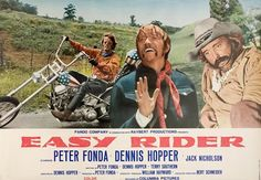 1969.  Trivia from IMD:   Peter Fonda got the idea for this movie after seeing a picture of himself and Bruce Dern on their motorcycles. He got Dennis Hopper (who was planning to get out of the acting business and become a teacher at the time) involved when he promised him he could direct the film.
