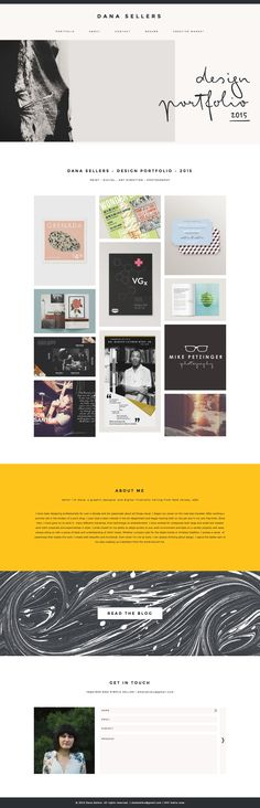 Modern, portfolio site, Wordpress theme, website design - Station Seven. Click through to buy!
