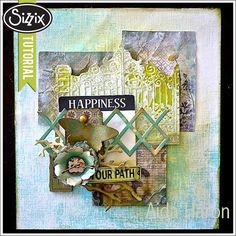 Sizzix Die Cutting Tutorial | Happiness Home Decor by Aida Haron