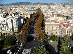 La Rambla,  Barcelona