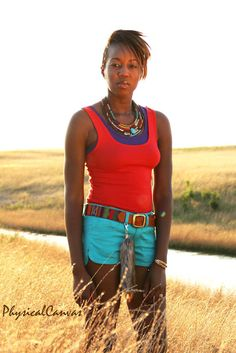 [On the blog] Native American inspired look. Click for details.