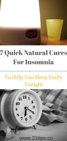 This article is so AMAZING. Check out this 7 Quick Natural Cures For Insomnia That Will Help You Sleep Easily Tonight. You need to try them.