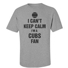 I'm a cubs fan shirt