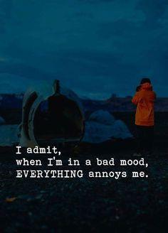 When Im in a bad mood everything annoys me.. via (http://ift.tt/2DEYgUU)