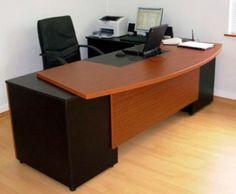 cajones archivadores de melamina - Buscar con Google Office Set, Office Workspace, Office Furniture, Furniture Decor, Office Table Design, Office Themes, Luxury Office, Office Interiors, Desk