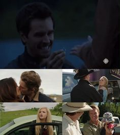 FAVOURITE HEARTLAND MOMENTS - SEASON 6  5. Tim gloating that he knew Amy and Ty were engaged 4. Mallory returning 3. Amy slapping Chase 2. Lou and Caleb kissing 1. Ty proposing to Amy