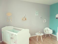La chambre de Lenny (part 2) #babysbedroom #babysroom #decoration #deco #design #Lennychérie #bliss #clouds