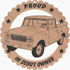 - ornament - international scout 80 -