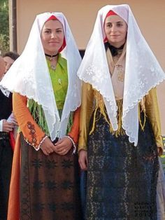 Sardinia - Nuxis - #traditional #costumes