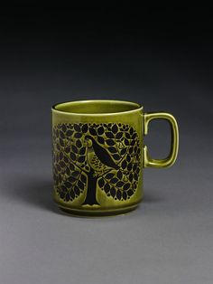 Retro Pottery Net: Hornsea Mugs by John Clappison Hornsea Pottery, Pottery Mugs, Best Coffee Mugs, My Coffee, Pottery Designs, Mug Designs, Vintage Kitchenware, Vintage Dishes, Living Room Cushions