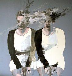 "Saatchi Online Artist Jessica Rimondi; Painting, ""SOLD - je,moi -"" #art"