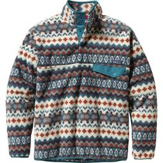 Pull on the Patagonia Synchilla Snap-T Fleece for a chilly fall afternoon in town, or layer it under a hardshell during a frigid morning on the ski hill. This classic fleece goes back to the first days of Patagonia. The four-snap placket opens easily to cool you off while you're walking around downtown. A relaxed fit makes it easy to layer a sweater under the Synchilla Snap-T.