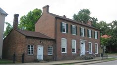Brown Pusey House in Elizabethtown, Ky. The house where Abraham Lincoln's parents were married.