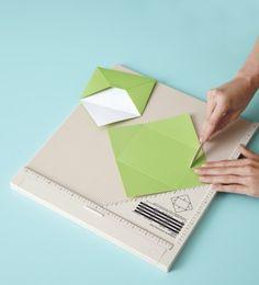 Craft ideas using the Martha Stewart scoring board.