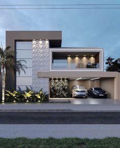 Modern Exterior House Designs, Latest House Designs, Modern Architecture House, Modern House Design, Exterior Design, Architecture Design, House Outside Design, House Front Design, Small House Design