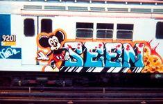 NYC Graffiti History, Seen Graffiti, Graffiti Piece, New York Graffiti, Graffiti Font, Graffiti Murals, Street Art Graffiti, Graffiti Images, American Graffiti