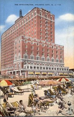 Atlantic City NJ The Ritz-Carlton a long time ago.