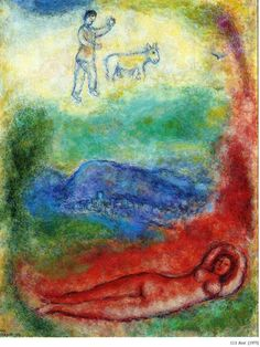 Rest, 1975, Marc Chagall