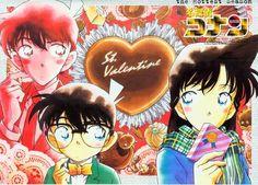 Valentine Day  Conan/ Shinichi x Ran