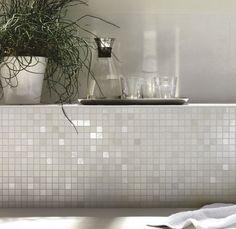 Mozaiek Glas badkamer voorbeeld - Google zoeken