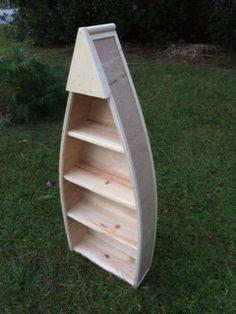 4 foot Row boat shelf free shipping on Etsy, $130.00
