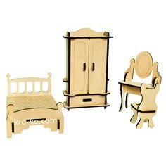 Купить конструктор игрушечную спальню в интернет-магазине Kroko&woodi