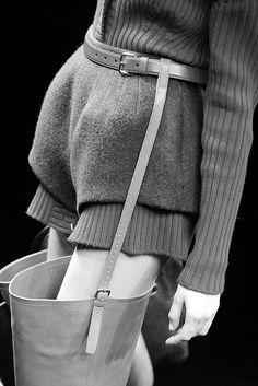 """le-monde-sans-couleur: """"Prada F/W 2009 """""""