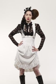 LDRGS12 - GOLDEN STEAM UNDERBUST BROCADE DRESS | Dresses | Phaze Clothing
