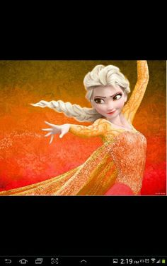 You might know but its fire Elsa.