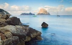 Ibiza ~ Has an absolutely beautiful coastline with dozens of tiny coves to explore.