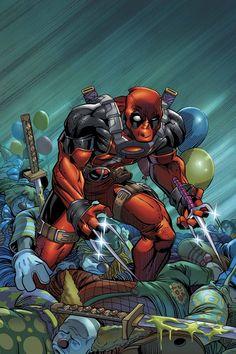 #Deadpool #Fan #Art. (Deadpool: Enema of the State(LOL!)By: Patrick Zircher.