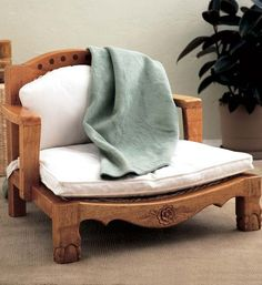 """Raja Meditation Chair: Raja means """"royalty"""" in Hindi - and in this luxurious chair you just may feel like it! Shorter-styled armrests provide comfort in any sitting position, especially cross-legged sitting or #meditation. Get it at http://www.gaiam.com/raja-meditation-chair/05-0414_2.html?utm_source=pinterest&utm_medium=socialmedia&utm_campaign=ptgaiamcom&extcmp=sm_pt_tc."""