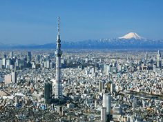 Tokyo Sky Tree & Mt. Fuji