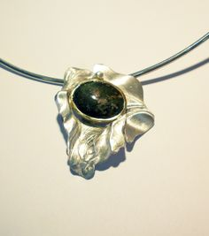 Unique Silver necklace, One of a Kind Artisan  from Designer Jewelry Kodre by DaWanda.com