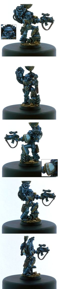 A wonderful paint job of a limited edition games workshop miniature.