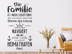 Die Familie ist unser Leuchtturm The Wall Decal The family is … discover here. Quotes About Strength In Hard Times, Quotes About Moving On, Mindset Quotes, Leadership Quotes, Teamwork Quotes, Leader Quotes, Wall Quotes, Life Quotes, 50th Birthday Quotes