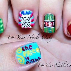 The Price is Right nails